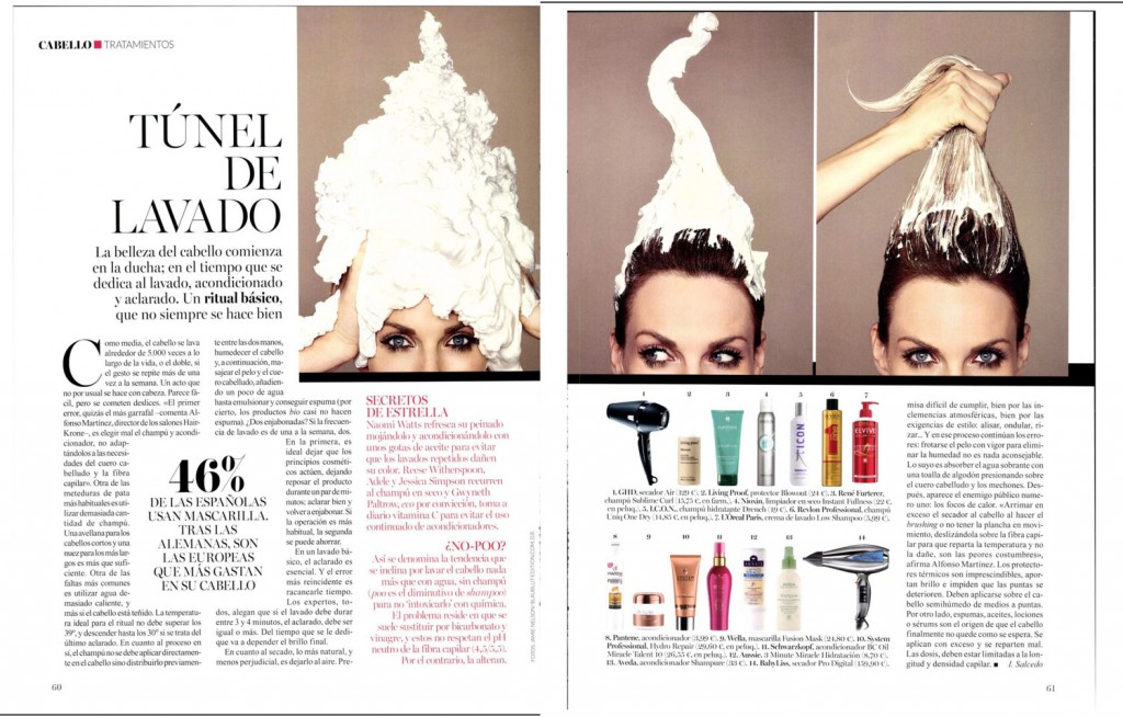 Hairkrone y Vogue Belleza