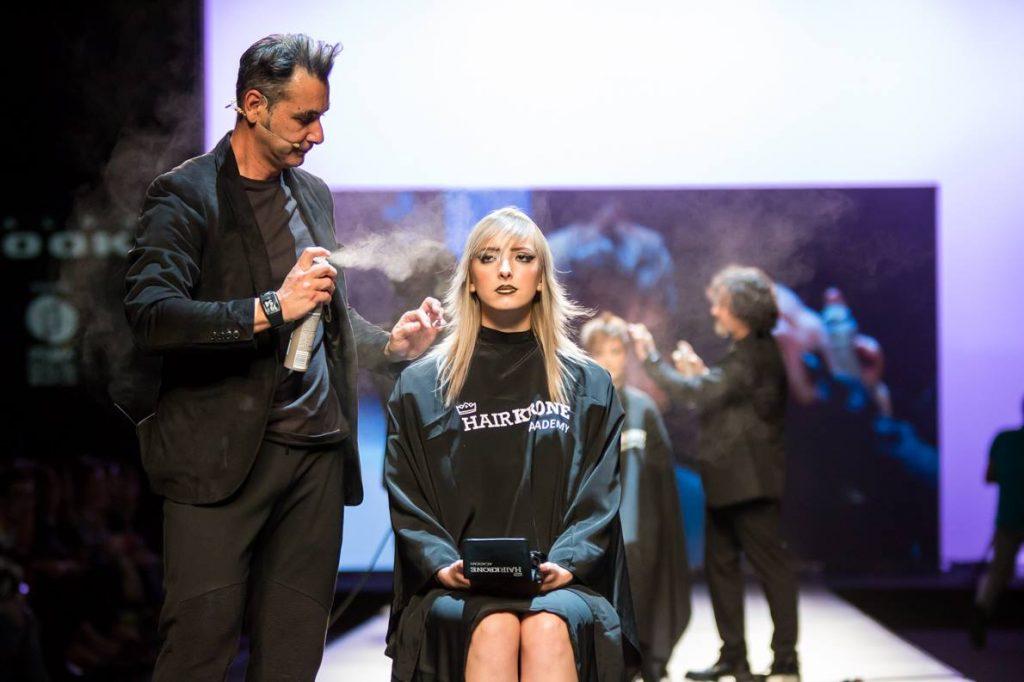 Hairkrone Academy en el show de Wella Professionals