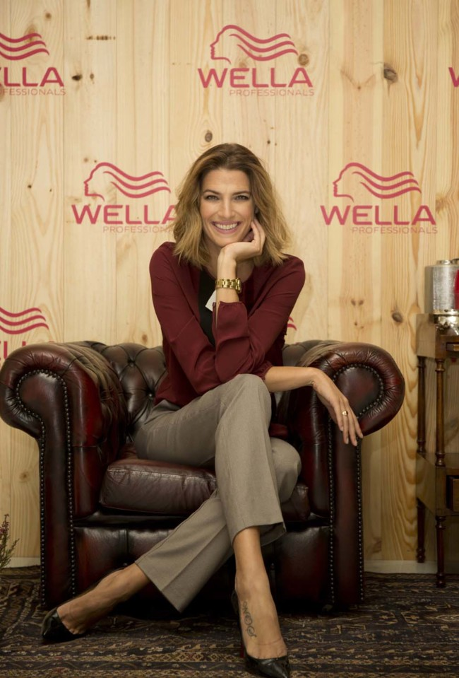 Laura Sánchez para Wella Professionalls