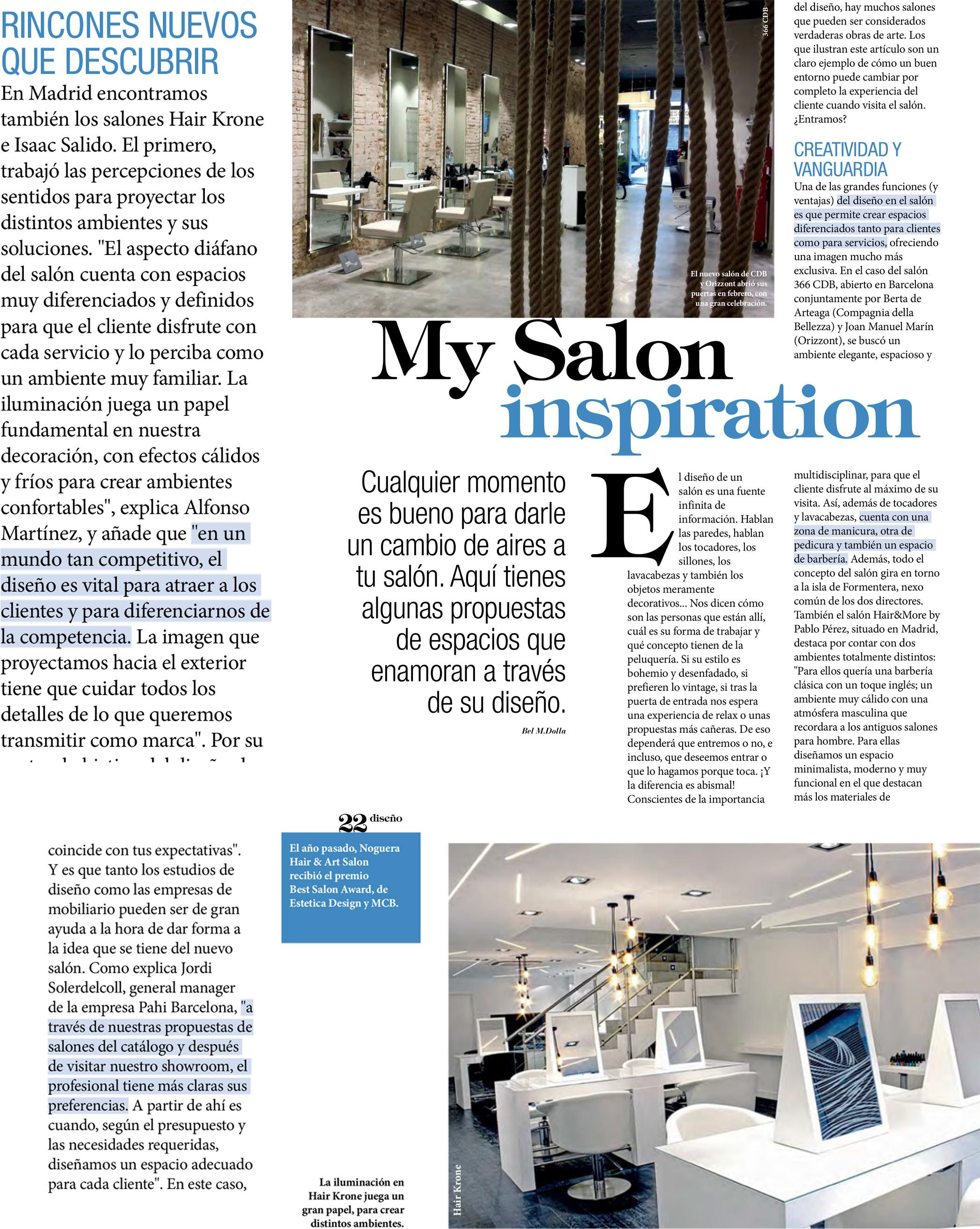Hairkrone salones de inspiraci n hairkrone - Inspiracion salones ...