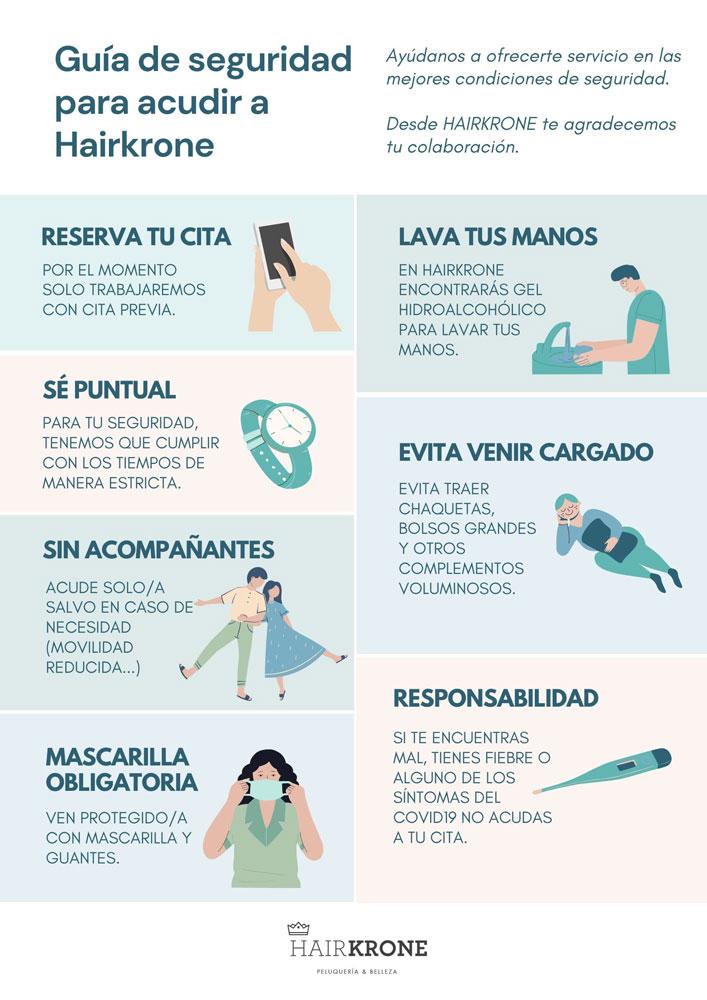 MEDIDAS DE SEGURIDAD E HIGIENE HAIRKRONE